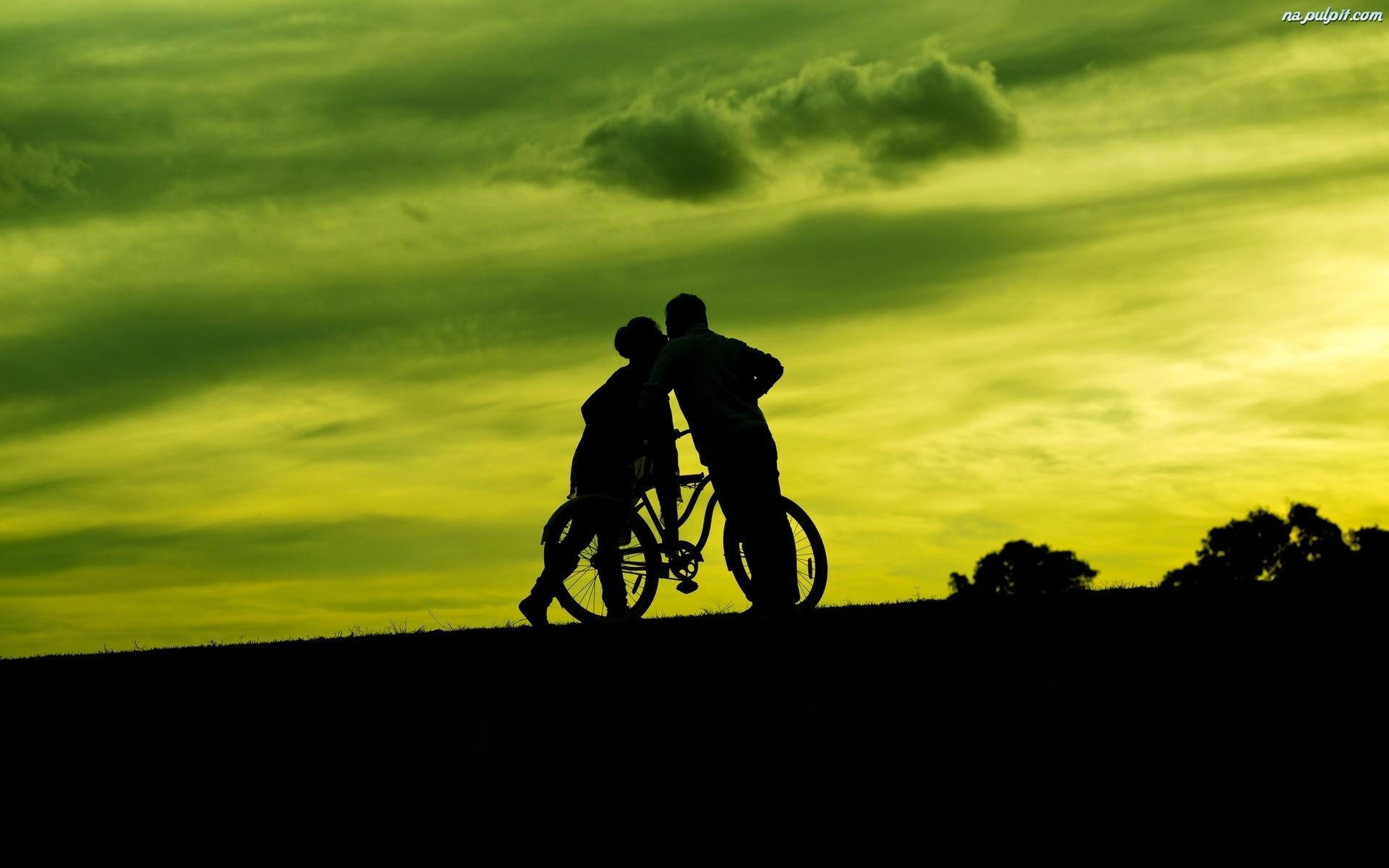 Rower, Kobieta, Mężczyzna